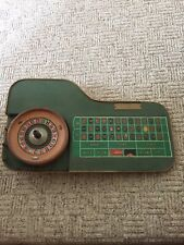 Wilber Clark Roulette Table Rare And Collectible Vintage