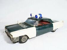 ICHIKO JAPON Cadillac Polizei Rare friction en tôle 27 cm