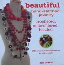 LIVRE/BOOK : BIJOUX A FAIRE SOI MEME (perles,beads,stitched jewellery
