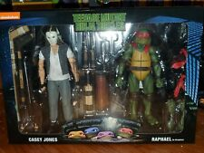 "NECA TMNT 7"" Casey Jones & Raphael Disguise 2 Pack Ninja Turtles (NO DISGUISE)"
