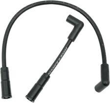 Black 8.8mm Spark Plug Wires fr Harley Davidson FXD Dyna FXDWG Wide Glide 99-17
