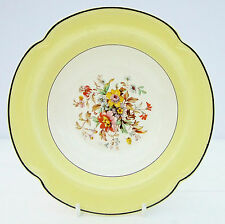 Vintage Johnson Brothers Pareek Yellow Floral Dessert Bowl Dish