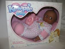 "12"" Soft Snuggable Black Kewpie Baby Doll Mint In Box #4"