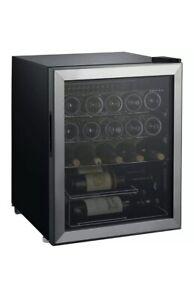 Whirlpool 25 Bottle 2.7 cu ft Wine Fridge - Stainless Steel WHW27S