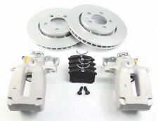 2 x Seat Leon 1.8T Cupra R 2002-2006 Rear Brake Calipers Discs & Pads