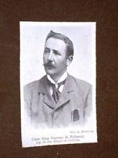 Conte Gian Giacomo de Felissent Deputato di San Biagio di Callalta nel 1907