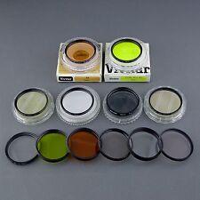 12x 55 mm lens filter yellow sky pol UV red close up HTMC Soligor vivitar m ☆☆☆☆