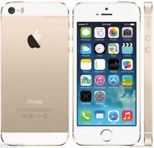 Doré Apple iPhone 5s-16 Go-DÉBLOQUÉ TOUT OPÉRATEUR Smartphone-NO Fingerprint