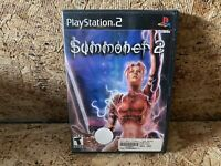 Summoner 2 (Sony PlayStation 2, 2002) PS2 Game Tested Works Free Shipping