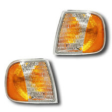Fits 98-03 Ford Expedition F-150 F-250 Turn Signal Parking Light Assembly 1 Pair