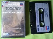 DVORAK Symphony 9 - Chicago Symphony Orchestra Sir Georg Solti - K7 tape Audio