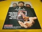 DEFTONES - Publicité de magazine / Advert ROCK SOUND !!!!!!!