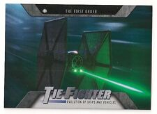 2016 TOPPS STAR WARS EVOLUTION SHIPS AND VEHICLES #EV-6 TIE FIGHTER
