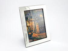 Cadre Photo 925 argent sterling 10x15 cm bois image photo NEUF
