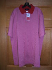 Callaway X-Series Golf Shirt Polo red/white M Nwt