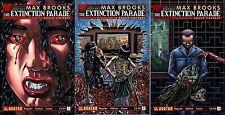 The Extinction Parade #1 2 3 1st print Avatar Max Brooks world war z Tv Show ?