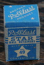 NOS Rollfast Vintage Bicycle Star # 49 Headset Bearings Hawthorne Columbia Bike