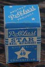 NOS Rollfast Vintage Bicycle Star # 49 Headset Bearings Hawthorne Columbia Bike