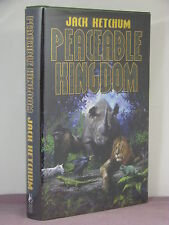 1st, signed by author, Peaceable Kingdom by Jack Ketchum (2002) book 303 of 600