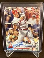 2018 Topps Holiday Mike Trout Christmas Holiday Card Angels Perfect Gift Mint!