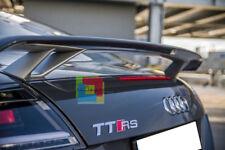 AUDI TT 8J 2006-2014 SPOILER POSTERIORE SUL COFANO LOOK TTS TTRS ALETTONE .-.