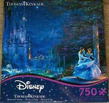 Thomas Kinkade 750 piece Disney Cinderella Dancing in the Starlight Puzzle NEW