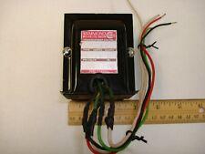 60 Vct 1a Power Transformer Hammond 167j60 60va
