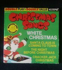 Wonderland Records Christmas songs White Christmas
