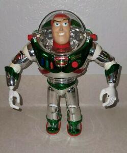 BUZZ LIGHTYEAR HOLIDAY HERO Toy Story Vintage 1998 Mattel Christmas Talking
