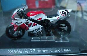 Miniature Moto : YAMAHA R7 - Noriyuki Haga - 2000 - 1/24