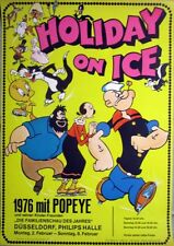 HOLIDAY ON ICE - 1976 - Plakat - Popeye - Tom & Jerry - Speedy Gonzales