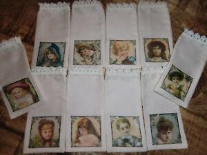 10 Säckchen zum selbstbefüllen *Kinder* Baumwollsäckchen 13x6 cm 210108/2