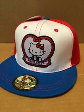 New HELLO KITTY 40th Anniversary Ball Cap Hat Strap Back Sport Adjustable NWT