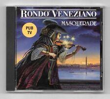 CD / RONDO VENEZIANO - MASQUERADE / 10 TITRES ALBUM ANNEE 1990