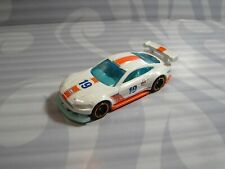 2019 HOT WHEELS loose = CUSTOM `18 FORD MUSTANG GT = WHITE , GULF