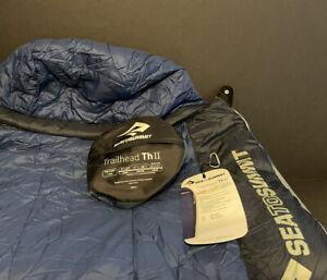 Pre-owned See Note - Sea To Summit - Trailhead ThII - Sleeping Bag - Long