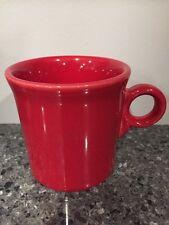 Fiesta Ware Scarlet Red Ring Handle Coffee Mug Homer Laughlin USA