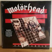 Motorhead New Sealed Double LP On Parole 180 Gram Unreleased Tracks Vinyl LP
