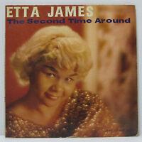 ETTA JAMES - THE SECOND TIME AROUND LP 1961 US ORIG ARGO BLUE LABEL DG MONO R&B