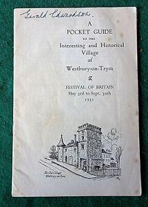 WESTBURY ON TRYM BRISTOL GUIDE FESTIVAL OF BRITAIN 1951