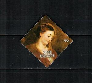 COOK ISLANDS Scott's 1025 ( 1v ) Madonna, Rubens F/VF Used ( 1989 ) #1