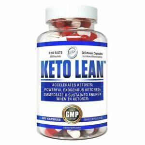 NEW Hi-Tech KETO LEAN Ketogenic Diet Weight Loss Fat Burner - 120 capsules