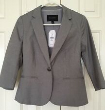 Banana Republic Blazer Gray Grey Petite 4P NWT New Suit Jacket Work ($109.99)