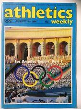 ATHLETICS WEEKLY Magazine. August 18th 1984. **Free UK Postage**