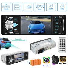 4.1'' Single 1Din Car Stereo MP5 Player USB TF BT AUX U Disk FM Radio Receiver
