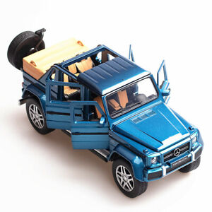 1:32 Diecast Model Car Toy Collection For Mercedes Maybach G650 SUV Sound&Light