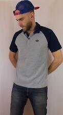 Adidas Originals Polo Shirt Size Small Grey