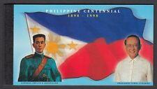 (RP98A) PHILIPPINES - 1998 CENTENNIAL SOUVENIR BOOKLET. Sc #2550A