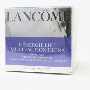 Lancome Renergie Lift Multi-Action Ultra Spf 30 Cream  1.7oz/50ml New With Box