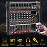 DJ PA 8 Kanal Mixer Mischpult Verstärker Party Stereo USB MP3 Player Handbuch